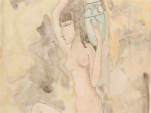 Femme Grecque Nue