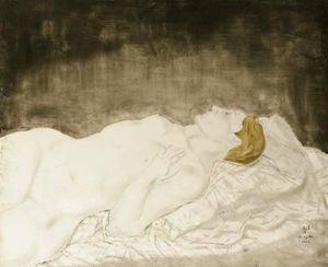 Jeune Femme Endormie