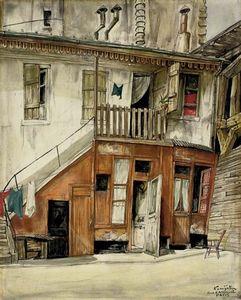 Rue D'arsonval, Paris