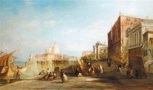 Santa Maria Della Salute De la Riva degli Schiavoni, Venecia