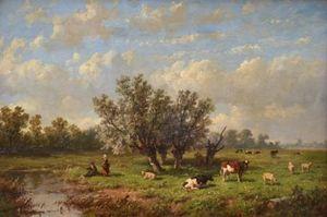 Dutch Pastoral Scene