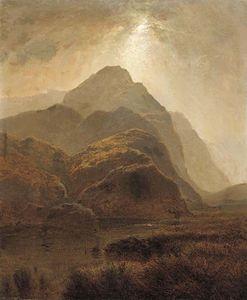 Night, Loch Dhu And The Sligachan Valley