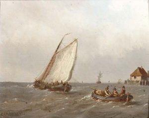 Heading For Sea