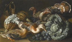 A Still Life Of Ducks, Turkeys