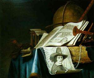 Ité Avec Le Portrait Du Peintre