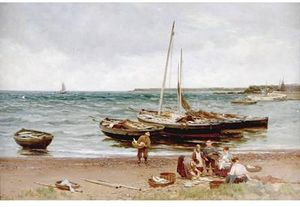 On The Shore, Crail, Fife