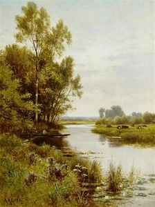 Fishing In A Quiet Spot