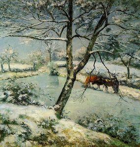 Winter at Montfoucault.