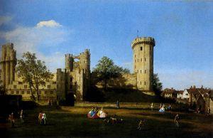 etto The Eastern Facade Of Warwick Castle