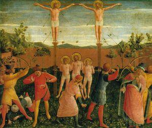 San Marco altarpiece (Detalj 1) -