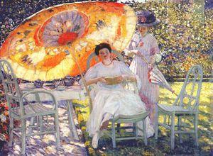 the garden parasol