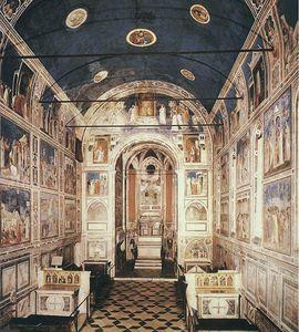 descrizione di  Antartico  affreschi  veduta  da  Antartico  ingresso