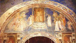 Dio manda Gabriele alla Vergine