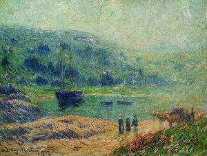 Creek in Brittany