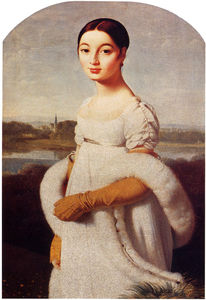 portrait of mademoiselle caroline riviere