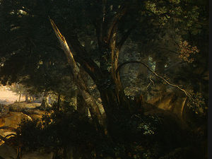 Forest of Fontainebleau (detail - )