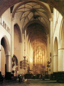 Sint Bavo in Haarlem Sun