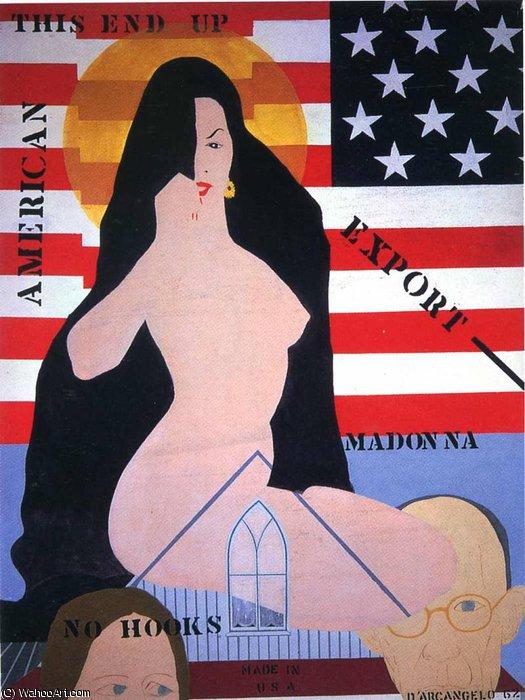 WikiOO.org - Энциклопедия изобразительного искусства - Живопись, Картины  Andy Warhol - Безымянный 5988