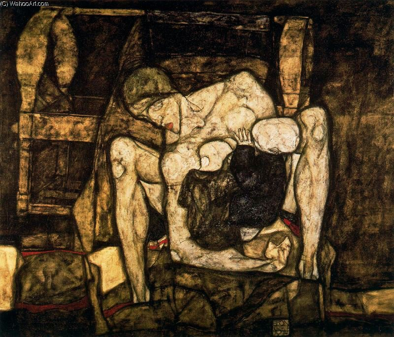 Wikioo.org - The Encyclopedia of Fine Arts - Painting, Artwork by Egon Schiele - untitled (4533)