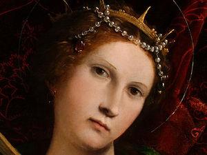 saint catherine - (detalj 1) -