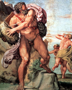 Polifemo y la ninfa Galatea