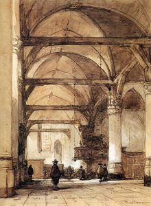 oude kerk in amsterdam sun