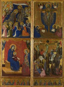 Scenes of the Virgin; The Trinity; The Crucifixion