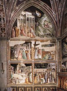 Santa Croce - Life of the Virgin