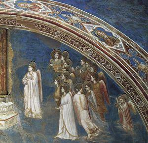 Dio manda Gabriele alla Vergine particolare  2