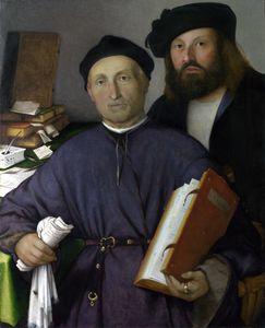 Giovanni Agostino della Torre and his Son, Niccolò