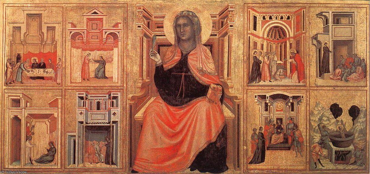 Wikioo.org - The Encyclopedia of Fine Arts - Painting, Artwork by Master Of Saint Cecilia - Altarpiece