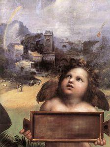 The Madonna of Foligno (detail)
