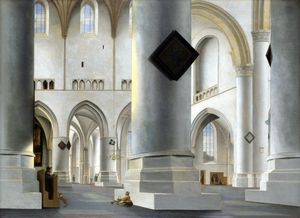 The Interior of the Grote Kerk at Haarlem