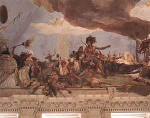 Wurzburg Apollo and the Continents d -