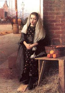 The little orange girl