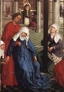 Seven Sacraments (central panel) detail