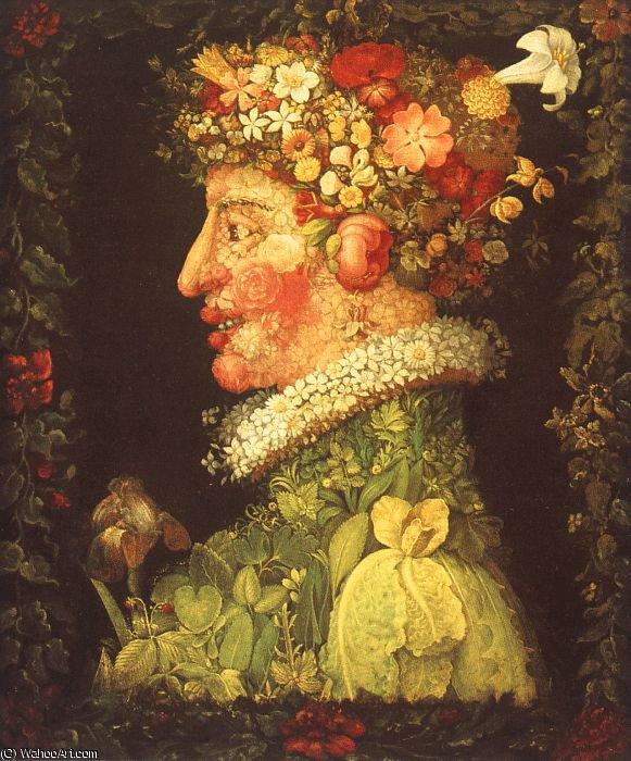 WikiOO.org - Encyclopedia of Fine Arts - Malba, Artwork Giuseppe Arcimboldo - Italian, approx. )