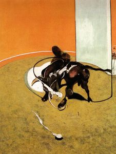 Study for Bullfight No.1, second version,