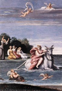 Antonio The Rape of Europa