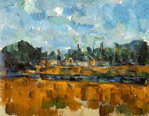 Bords d'une rivière,1904-05, private,schweiz. ventur