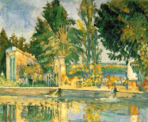Jas de buffan, the pool,c.1876, eremitaget