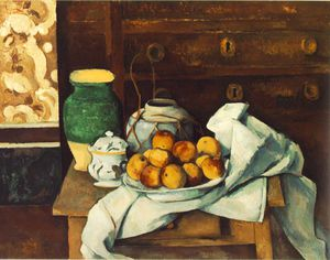 Still life with commode,1883-87, bayerische staatsge