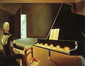 Dalí partial hallucination - six apparitions of lenin on a gr
