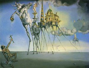 Dalí the temptation of st. anthony