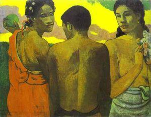 Tre tahitiani