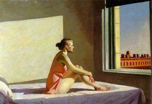 Morning sun, Columbus Museum of Art, Columbus,