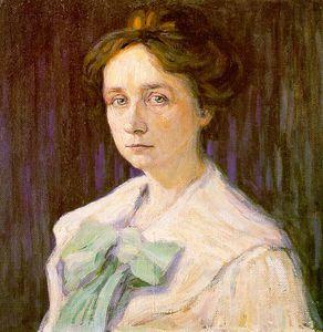Portrait of Gabriele Münter