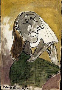 La femme qui pleure (Dora maar)