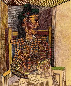 Portrait de Dora Maar assise