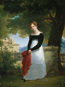 Eduoard Retrato de Adelaide Sophie Cleret